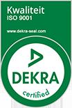 DEKRA ISO 9001 kwaliteits certificering